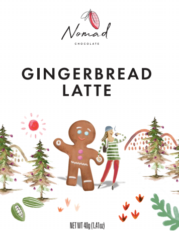 Nomad Gingerbread Latte 40g