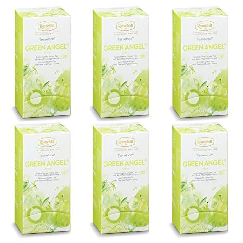 Ronnefeldt ümbrikutee Green Angel Organic 6 pakki