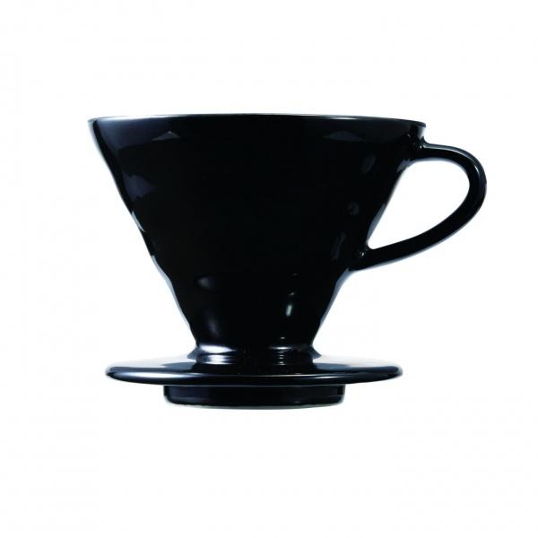 Hario V60 keraamiline filtrihoidja must
