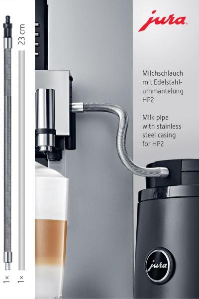 JURA roostevabast terasest piimavooliku kate HP2