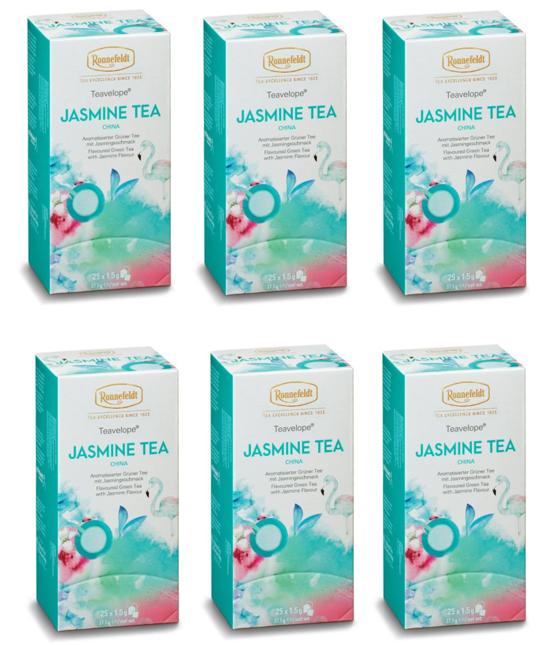 Ronnefeldt ümbrikutee Jasmine Tea 6 pakki