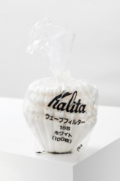 Kalita Wave Filter #155 white, 100 pieces (1-2 cups)