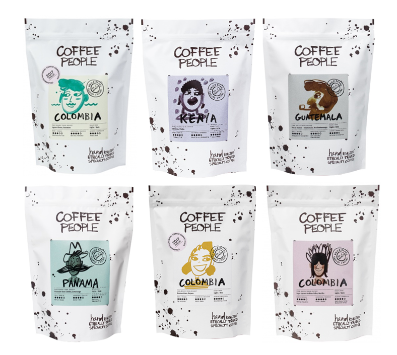 Super combo L.R 250g 6 different coffees