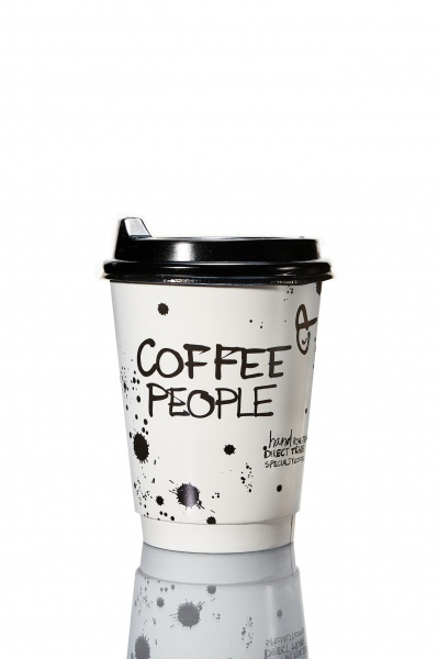 Coffee People 360 ml topsikaaned Must 1000tk