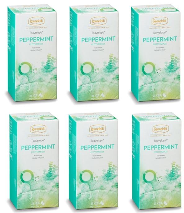 Ronnefeldt ümbrikutee Peppermint 6 pakki