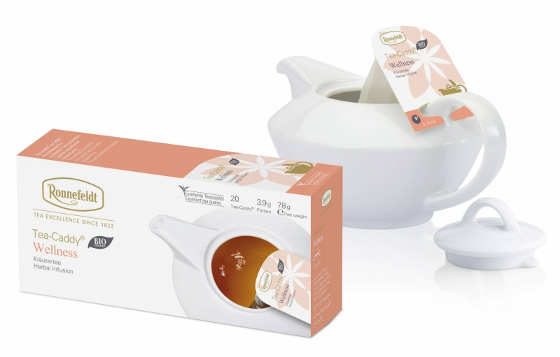 Ronnefeldt Tea-Caddy Wellness Organic 20 servings