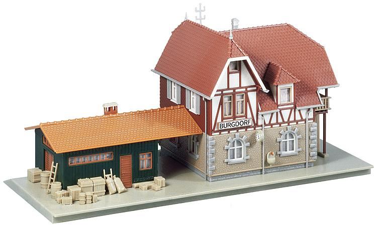1/87 H0 Burgdorf Station Faller
