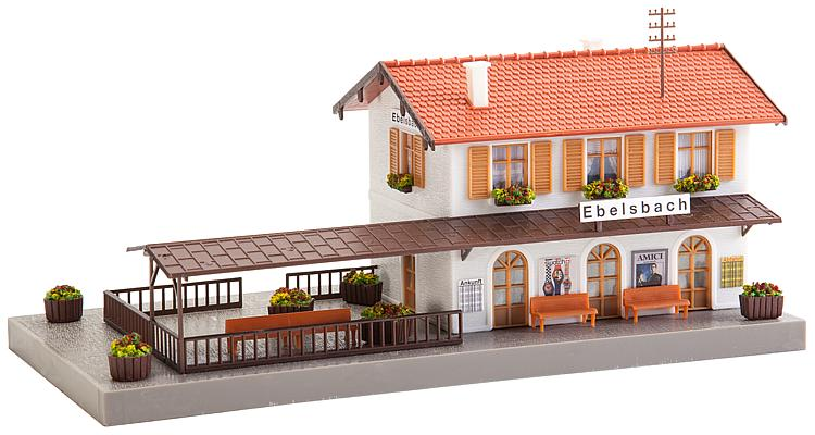 1/87 H0 Ebelsbach Station Faller