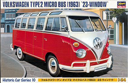 1/24 Hasegwa VW Hipibuss T1 samba 1963